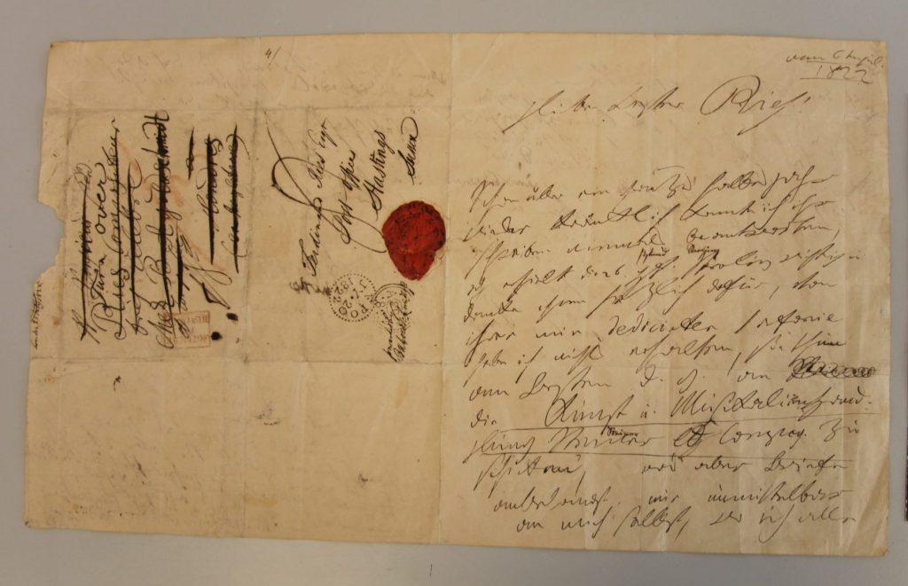 1822 Beethoven letter