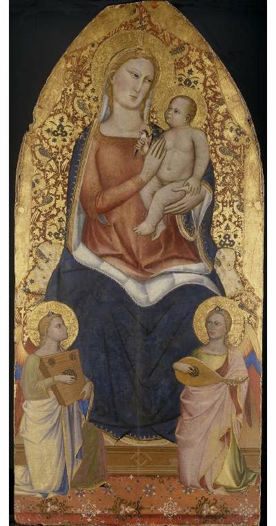 Virgin and Child by Niccola di Pietro Gerini – Fitzwilliam Museum