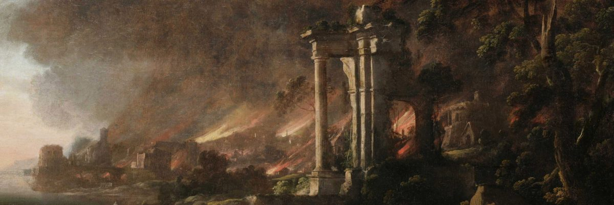 A Painting Transformed: From Pastoral Sunset to Burning Sodom