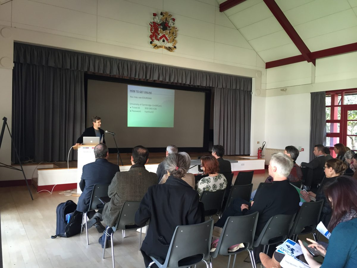 Review of 2016 ENCoRE Conference, Cambridge