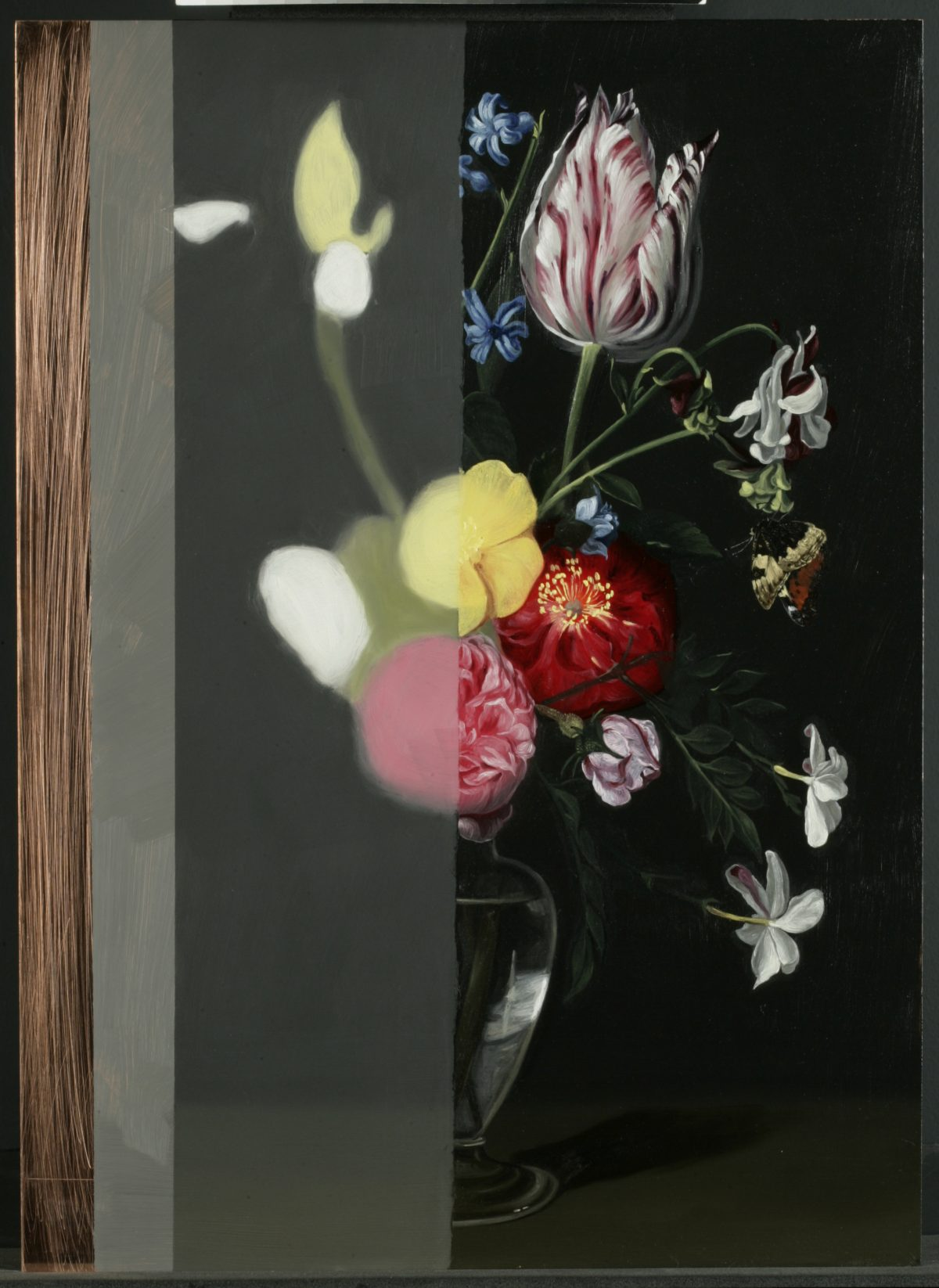 Reconstructing a 17th century Flemish flower painting