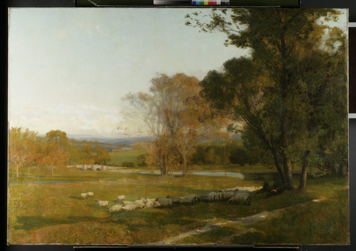 Sir Alfred East RA – Late 19th Century Landscape Painter