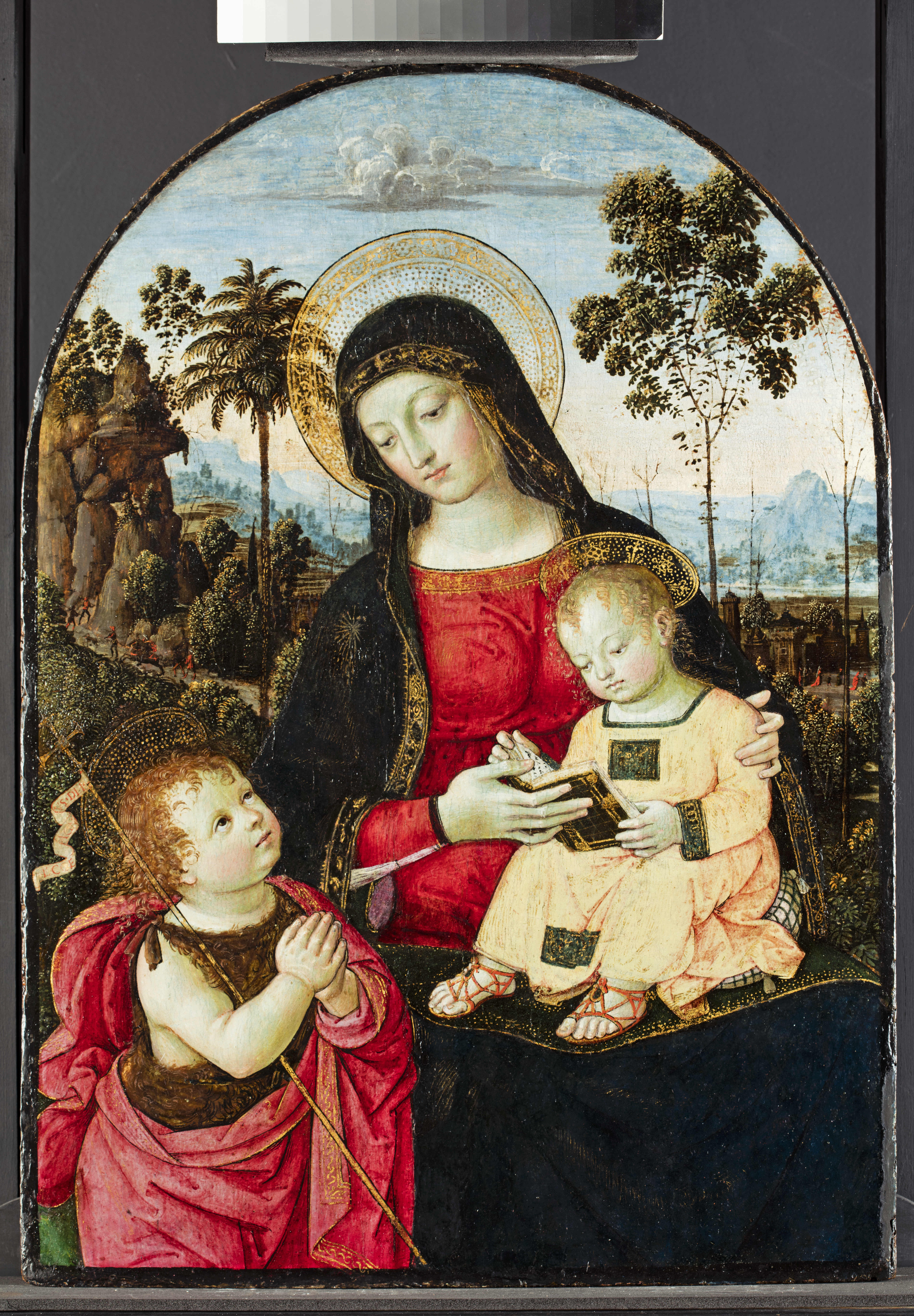 Fig. 7 Virgin and Child after treatment: Virgin and Child (©Titmus)