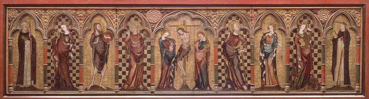 Annual Inspection of the Thornham Parva Retable
